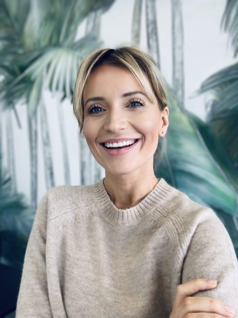 Anna Dec dziennikarka poleca gabinet kosmetyczny
